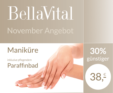 november Angebot 30% Rabatt