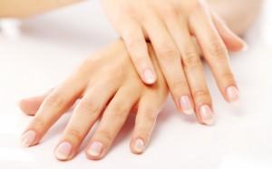 Schöne Nägel nach Maniküre